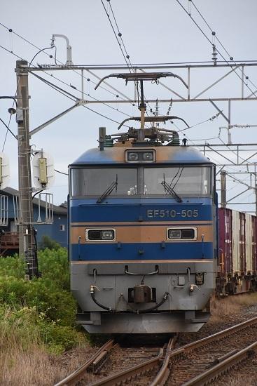 2093レ EF510-505号機 佐々木駅発車