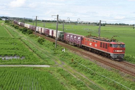 日本海縦貫線貨物 4061レ EF510-5号機