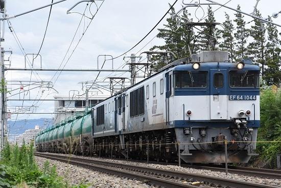 西線貨物8084レ EF64-1044+1049号機