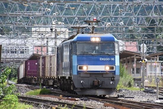 東線貨物2083レ EH200-16号機 その1