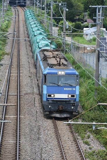 2019年7月29日 東線貨物2080レ EH20-16号機