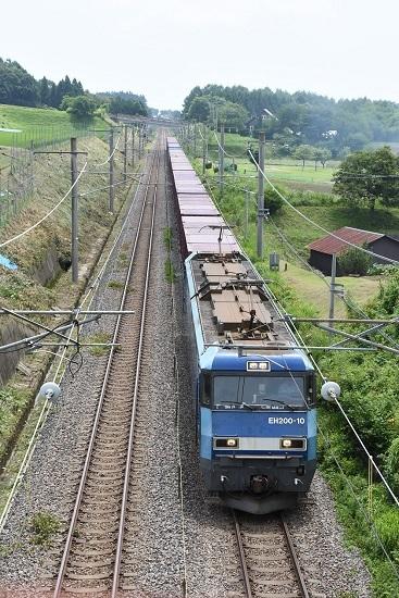 2019年7月29日 東線貨物2083レ EH200-10号機