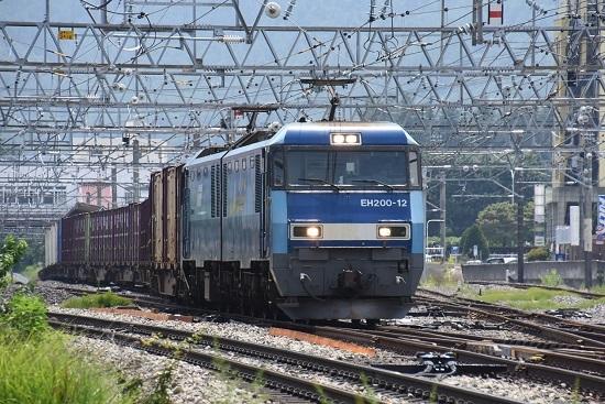 2019年7月30日 東線貨物2083レ 塩尻駅3番線通過EH200-12号機