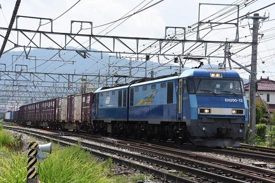 2019年7月30日 東線貨物2083レ EH200-12号機