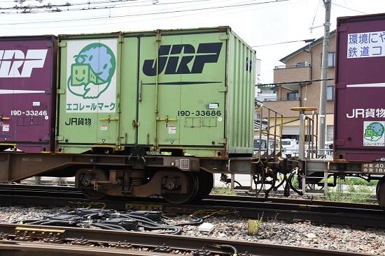 2019年7月30日 東線貨物2083レ 記念コンテナ