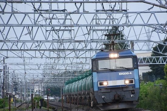 2019年7月31日 東線貨物2080レ EH200-4号機