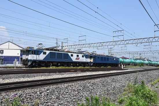 2019年7月31日 西線貨物8084レ 塩尻駅進入