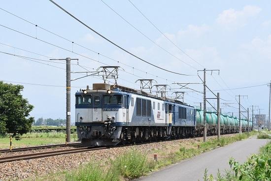 2019年7月31日 西線貨物8084レ EF64-1008+1037号機