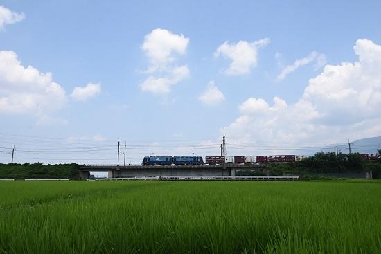 2019年7月31日 東線貨物2083レ EH200-16号機 サイド