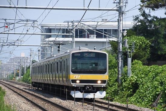 2019年8月1日 E231系4両