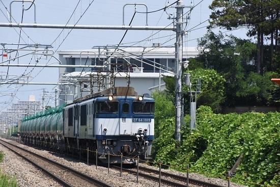 2019年8月1日 西線貨物8084レ 篠ノ井線区間にて