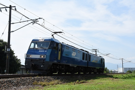 しなの鉄道 北しなの線 EH200-16号機 初入線