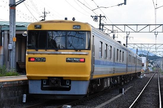 試9578D キヤ95 DR1編成 飯田線検測 北殿駅にて