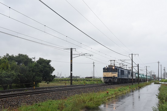 西線貨物 6088レ EF64-1037+1011号機