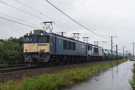 西線貨物 6088レ EF64-1037+1011号機 その2
