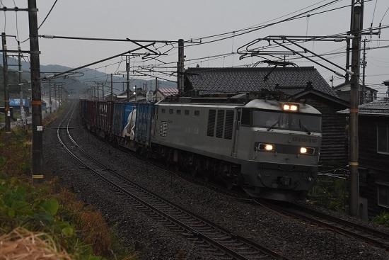 日本海ひすいライン 4091レ EF510-510号機 銀釜
