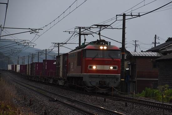 日本海縦貫線 3093レ EF510-9号機