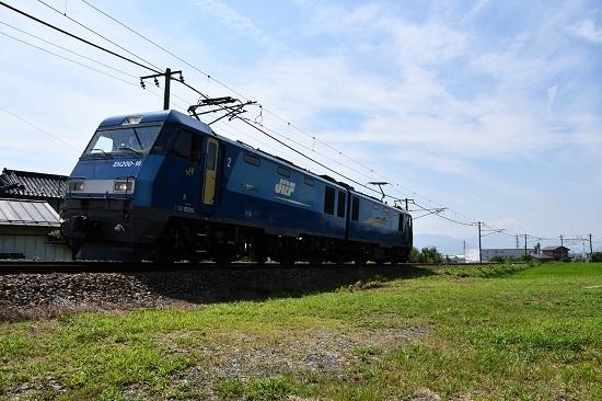 しなの鉄道 北しなの線 EH200初入線