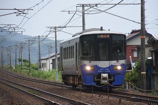 日本海ひすいライン 1632D ET122形 K6編成