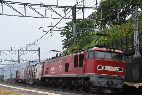 有間川駅にて 4060レ EF510-17号機