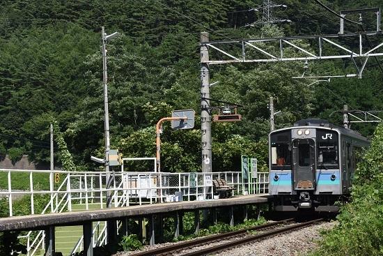 2019年8月25日 辰野線 信濃川島駅 E127系 イベント
