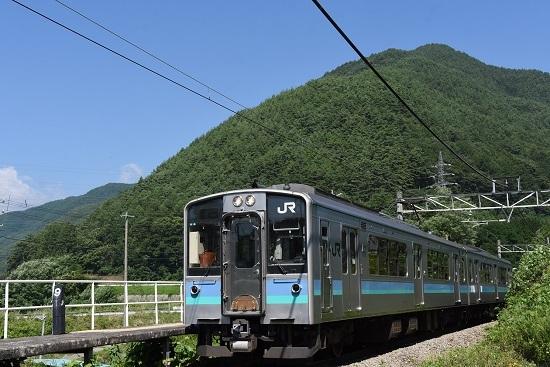 2019年8月25日 辰野線156M E127系