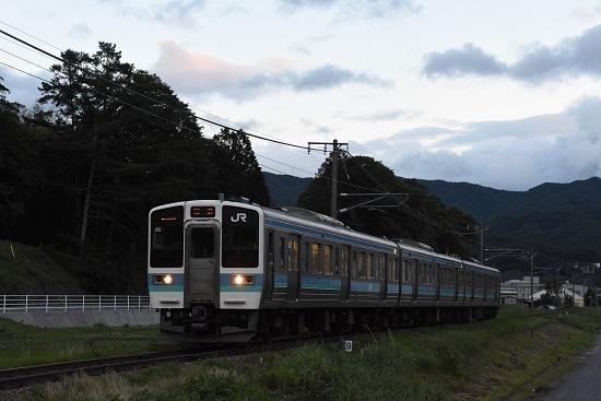 回9122M 211系 塩尻大門への回送