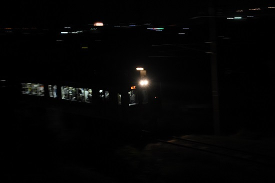 辰野線171M E127系 満員