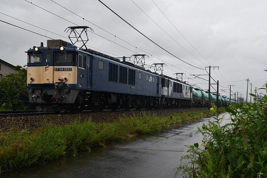 西線貨物 6088レ EF64-1037+1011号機 その3