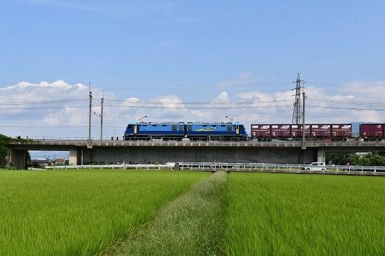 2019年8月17日 東線貨物2083レ EH200-1号機 JRFマーク無し
