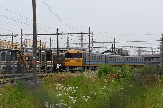 キヤ95 お休み中の伊那松島運輸区にて