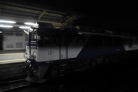 西線貨物5880レ EF64-1017号機を流す