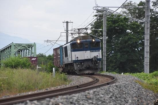 北長野貨物 83レ EF64-1017号機