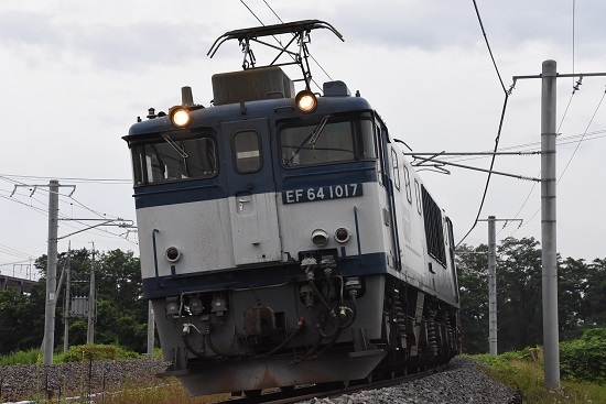 EF64-1017号機のUP