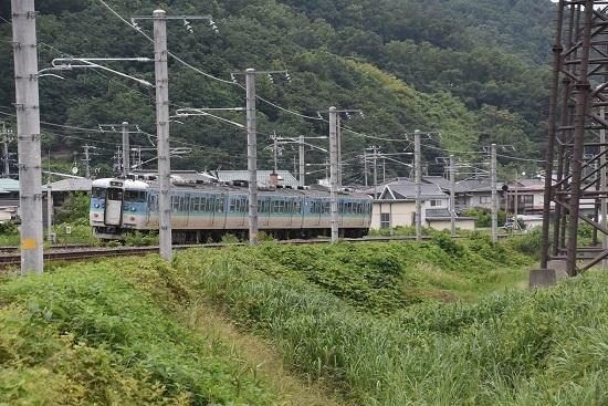 しなの鉄道 617M S15編成 長野色