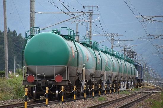 西線貨物8084レ 緑タキ