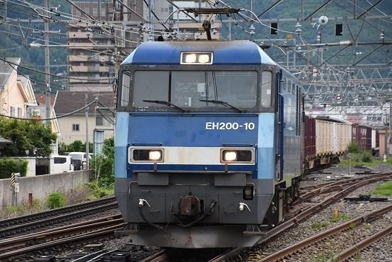 東線貨物2083レ EH200-10号機のドカーン