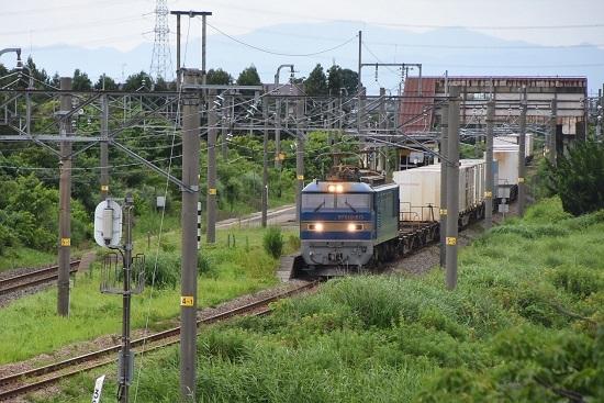 3098レ EF510-513号機が加治駅通過
