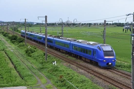 2007M E653系 U106編成 いなほ7号 瑠璃色