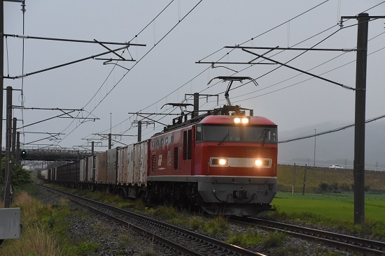 羽越本線 4090レ EF510-17号機