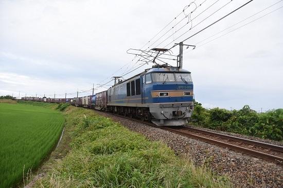 白新線 2093レ EF510-505号機 青釜