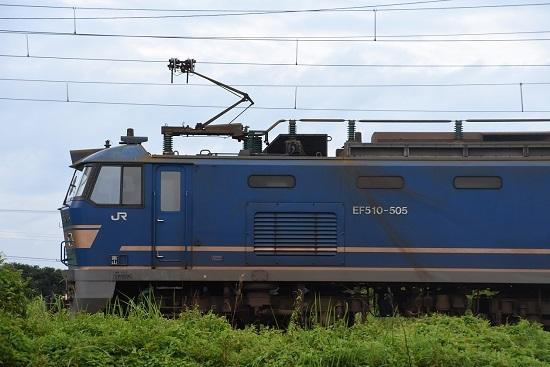 EF510-505号機のサイド