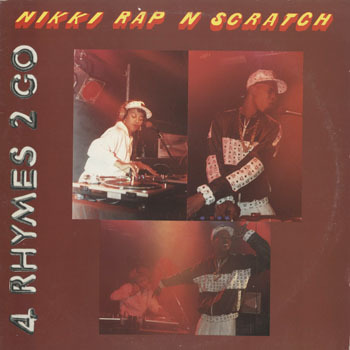 HH_MC NIKKE DJ RAP N SCRATCH_4 RHYMES 2 GO_20190806