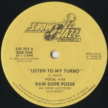 HH_RAW DOPE POSSE_LISTEN TO MY TURBO_20190806