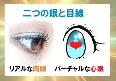 二つの目・目線