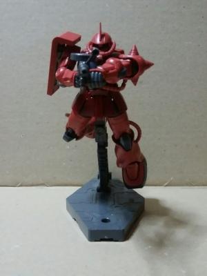 HGGO シャア専用ザクII-2