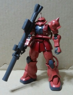 HGGO シャア専用ザクII-1