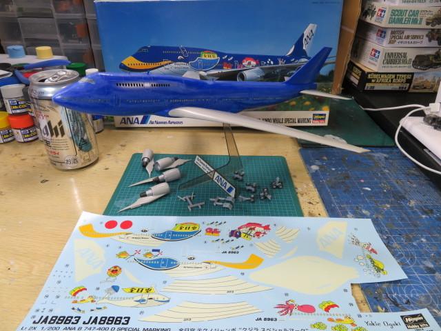 B747-400 ANA の4
