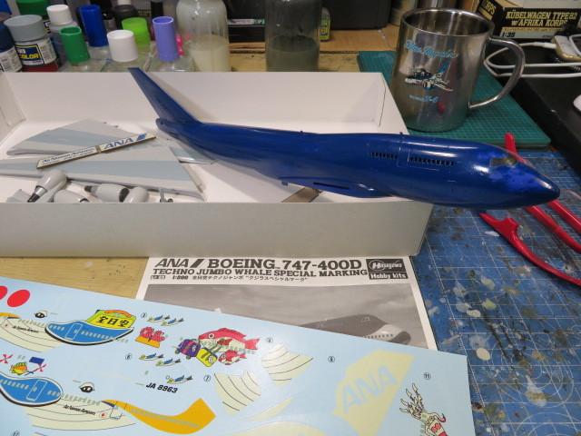 B747-400 ANA の5