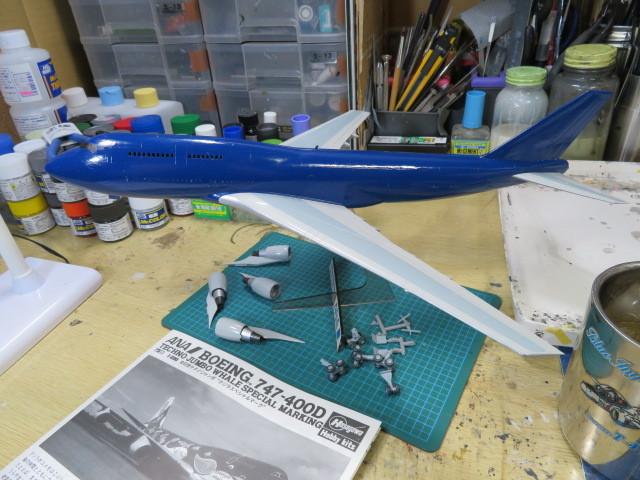 B747-400 ANA の6